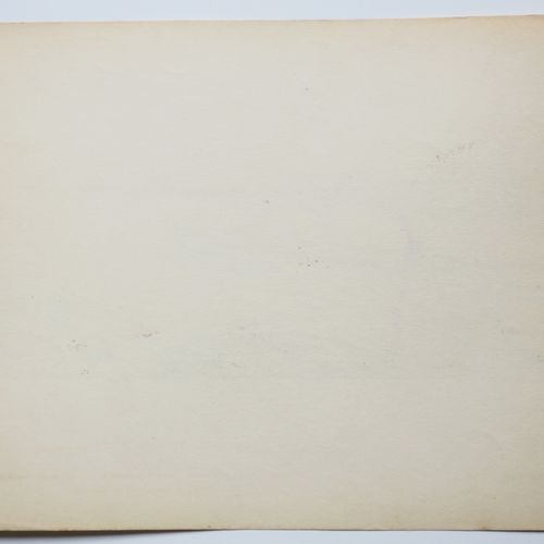 LOCOMOTION MONTAUT Ernest (1878 1909) [Barque sur la Seine]. Pochoir original, s…