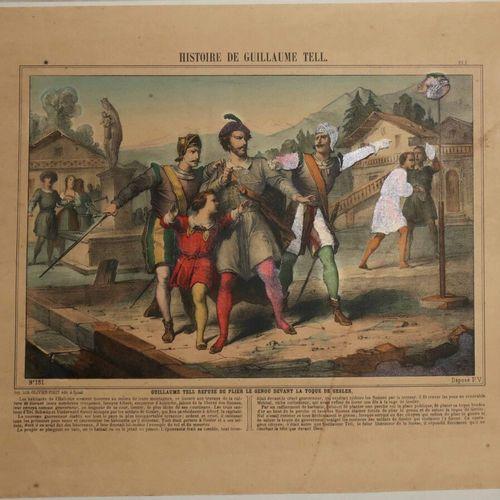 """GUILLAUME TELL IMAGERIE. """"Guillaume Tell refuse de plier le genou devant la Toqu…"""