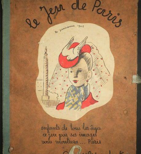 JEU DE L'OIE LE JEU DE PARIS. Les enfants de tous les âges, ce jeu par ses image…