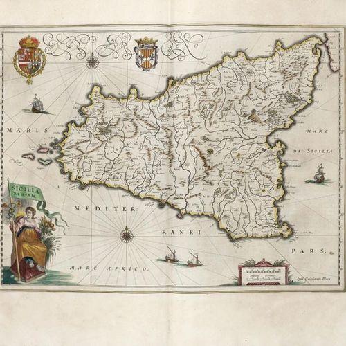 BLAEU, Willem (1571 1638) and BLAEU, Joan (1596 1673) Le Théâtre du Monde ou Nou…