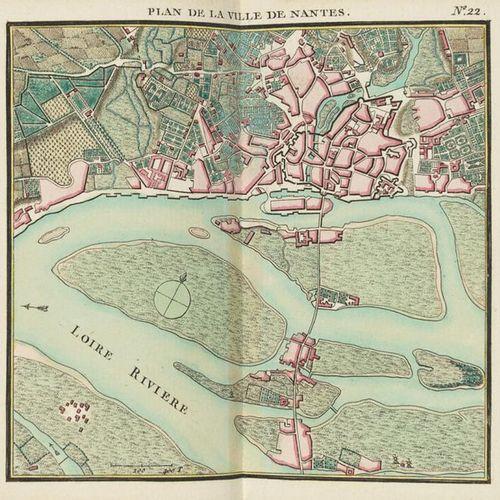 BONNE, Rigobert (1727 1795) Atlas maritime ou cartes réduites de toutes les côte…