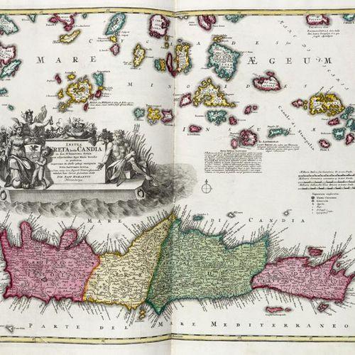 HOMANN, Johann Baptist (1663 1724) Neuer Atlas Atlas Novus. Nuremberg: presso l'…