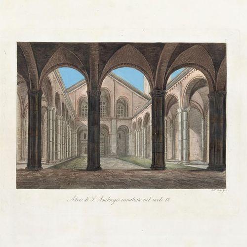 SANT'AMBROGIO] Monumenti della Basilica Ambrosiana. Milan: [s.E., s.D., but ca. …