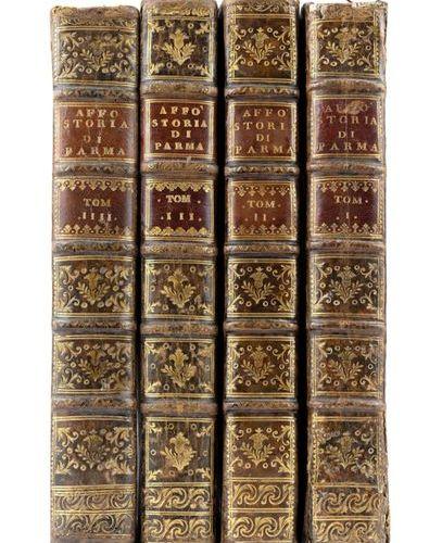 AFFÒ, Ireneo (1741 1797) History of the city of Parma. Parma: Stamperia Carmigna…