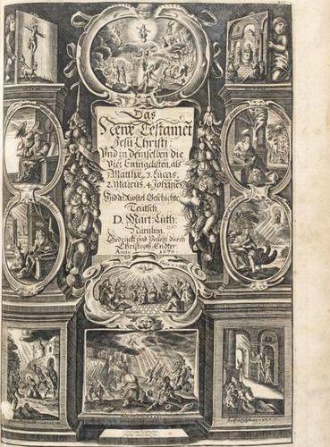 Biblia, das ist: die gantze Schrifft, Altes und Neues Testaments. Nuremberg: Chr…