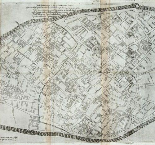 CAMPO, Antonio (ca. 1525 1587) Cremona fedelissima citta, et nobilissima colonia…