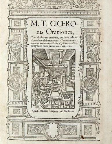 CICERON, Marcus Tullius (106 B.C. 43 B.C.) Orationes, cum doctorum omnium. Paris…