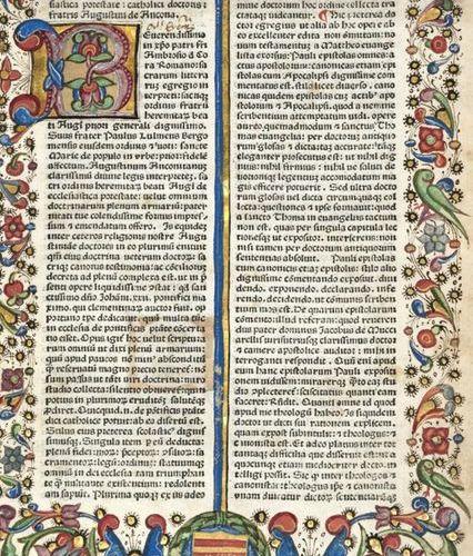 DE ANCONA, Augustine, called TRIONFI (1243 1328). Edited by: Paulo da Bergamo. S…