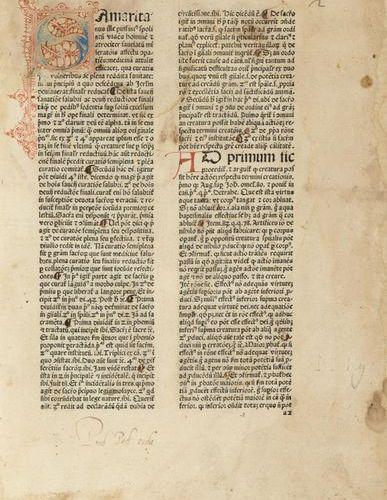 DUNS SCOTUS, Johannes (ca. 1265 1308) Samaritanus ille piissimus spoliatum viden…