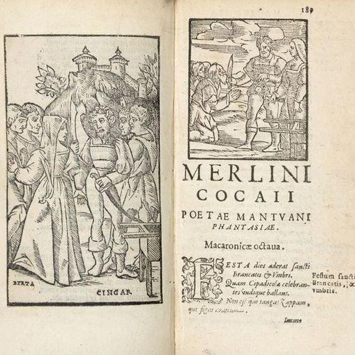 FOLENGO Teofilo (1491 1544) Opus Merlinicocaii poetae mantuani macaronicorum. Ve…