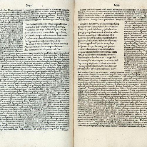 GIOVENALE, Decimo Giunio (ca. 55 135/140) Iuuenalis cum comment Ioannis Britanni…