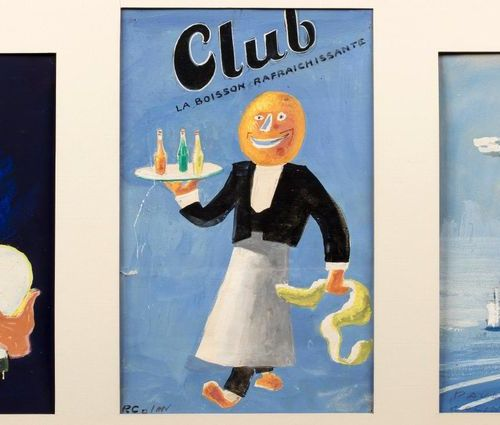 Paul COLIN (Nancy 1892 Nogent sur Marne 1985) Poster projects Three gouaches on …