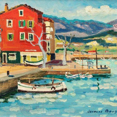 Jacques BOUYSSOU (La Rivière Saint Sauveur 1926 1997) Saint Florent, Corse, 1967…
