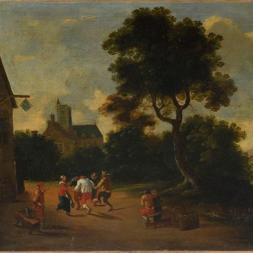 FLAMANDE school from the end of the 17th beginning of the 18th century, follower…