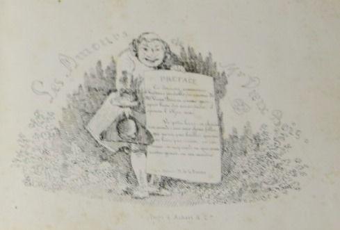 TOPFFER (Rodolphe). Les Amours de Mr Vieux Bois. Paris, Aubert & Cie, sd.  In 8 …