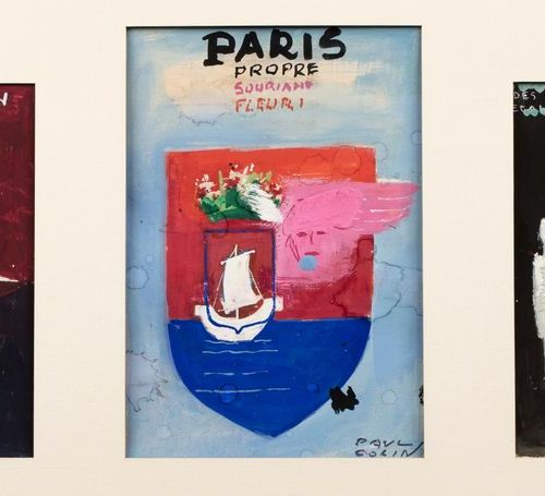 Paul COLIN (Nancy 1892 Nogent sur Marne 1985) Three advertising poster projects …