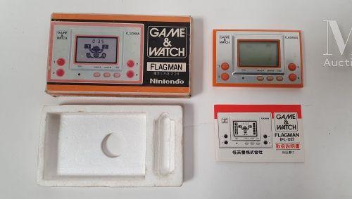 "NINTENDO GAME & WATCH NINTENDO GAME & WATCH  ""Flagman"" (FL 02)  Version JAP en b…"