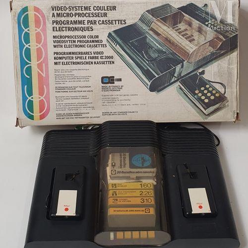 "OC 2000 SOCIETE OCCITANE D'ELECTRONIQUE  ""OC 2000""  Console en boite avec une ca…"