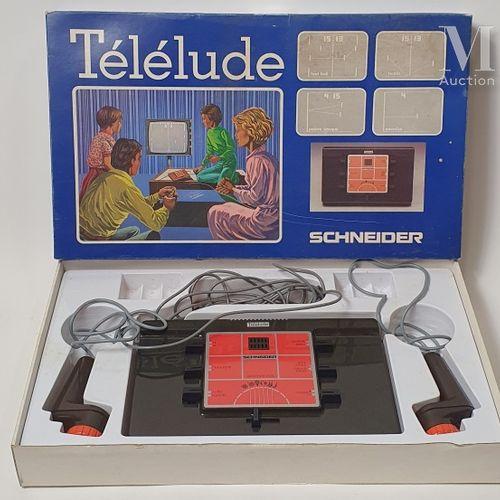 SCHNEIDER TELELUDE SCHNEIDER  Télélude  Console complète en boite avec sa câle. …