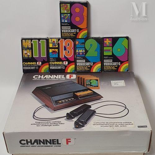 CHANNEL F CHANNEL F  Console version Secam français non commercialisée (1976). N…