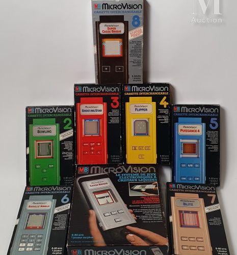 "MB Microvision MB  ""MicroVision"", France 1980. Fullset de la version française. …"
