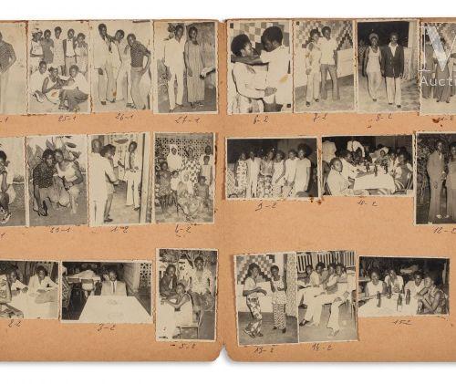 Malick Sidibé (né en 1936) Nuit du 26/08/1972  Photographie argentique, portfoli…