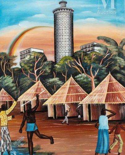 Kanda Matulu TSHIBUMBA (né en 1947) Les Lulua et les Baluba à Kananga en 1960, 1…
