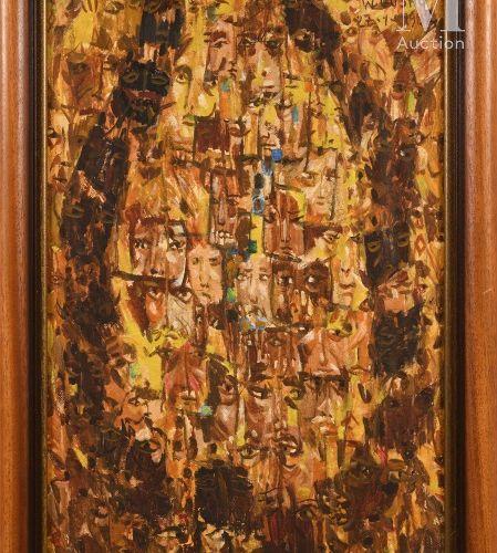 Worku GOSHU (né en 1942) Corrida, 1982  Huile sur toile signée et datée en haut …