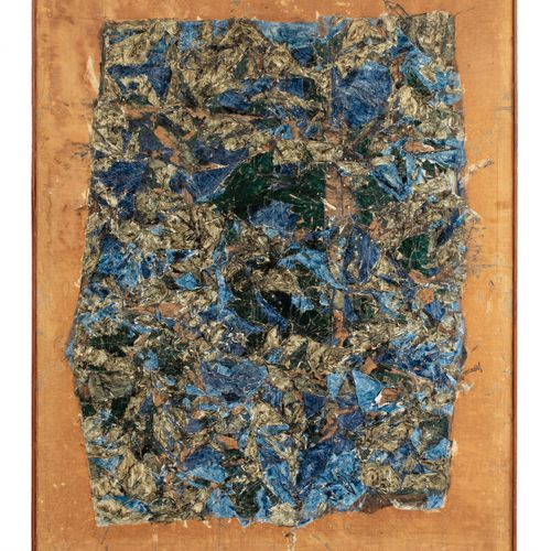 Simon HANTAI (1922 2008) Catamurons, 1963  Huile sur toile signée et datée en ba…