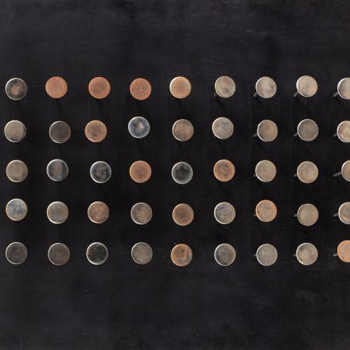 Yaacov AGAM (Né en 1928) Sound Tactile Painting, 1964  Bois peint, métal, ressor…