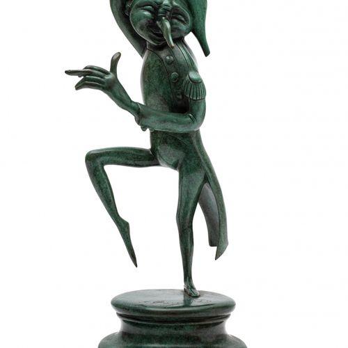 Mikhail CHEMIAKIN (né en 1943) Sans titre, 1988  Bronze, sculpture signée sur la…