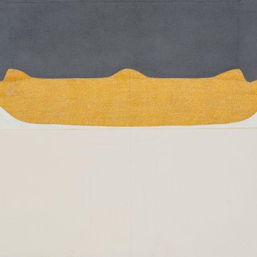 Horia DAMIAN (1922 2012) Land, 1976  Gouache et crayon de couleur sur papier, co…