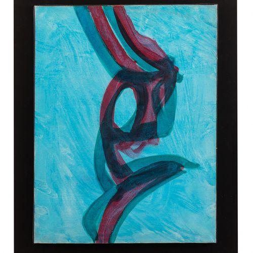 Stanley William HAYTER (1901 1988) Sans titre, 1981  Acrylique sur toile signée …