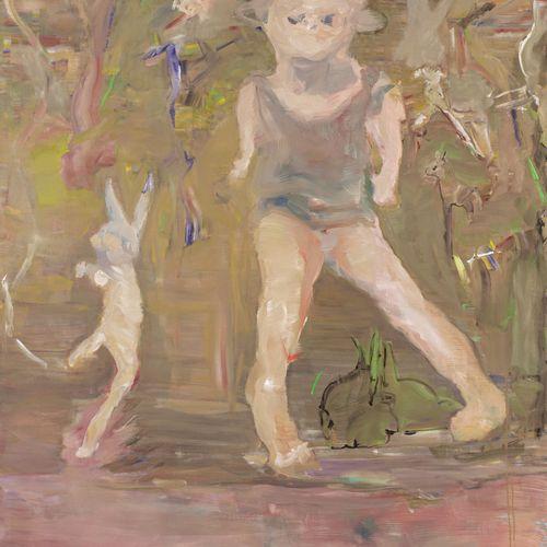 Valérie FAVRE (Née en 1959) Toys, 2004  Huile sur toile signée, datée et titrée …