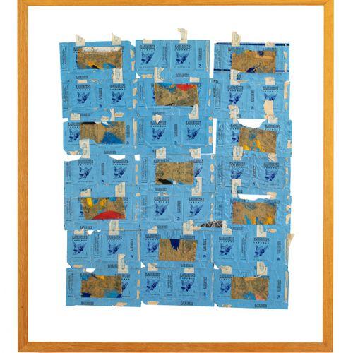 Pierre BURAGLIO (né en 1939) Gauloises, 1982  Paquets de Gauloises et collages, …