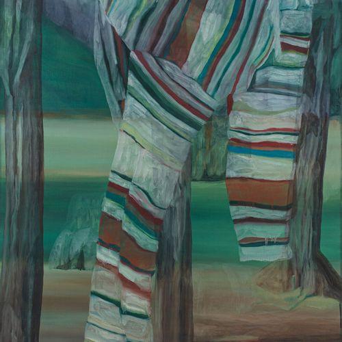 Marc DESGRANDCHAMPS (né en 1960) Sans titre (1219), 1999  Huile sur toile signée…