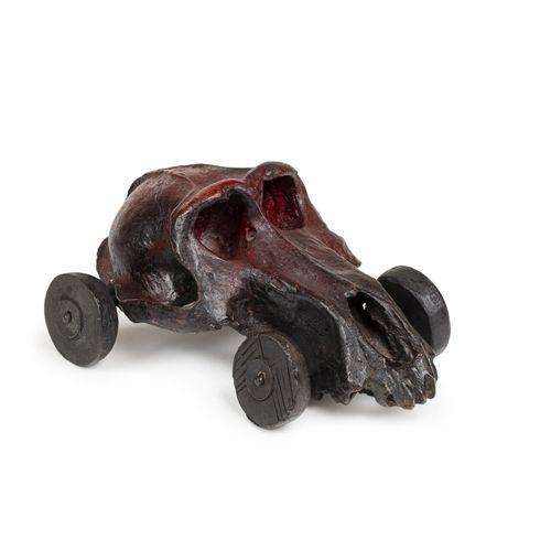 MIQUEL BARCELÓ (NÉ EN 1957) Petit Mobili, 2001  Bronze à patine rouge et noire, …