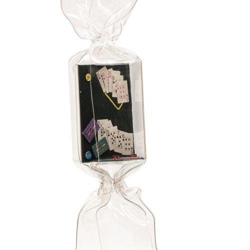 Laurence JENKELL (née en 1965) Wrapping Bonbon Casino, n°1730, 2012  Plexiglas e…