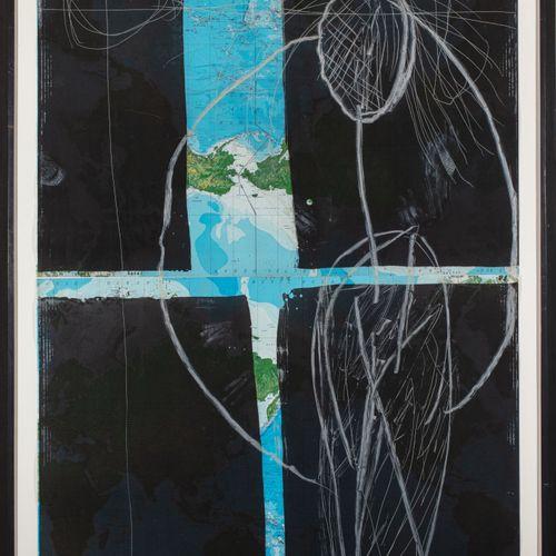 Julian Schnabel (né en 1951) Mother, 1985  Eau forte et aquatinte sur carte géog…