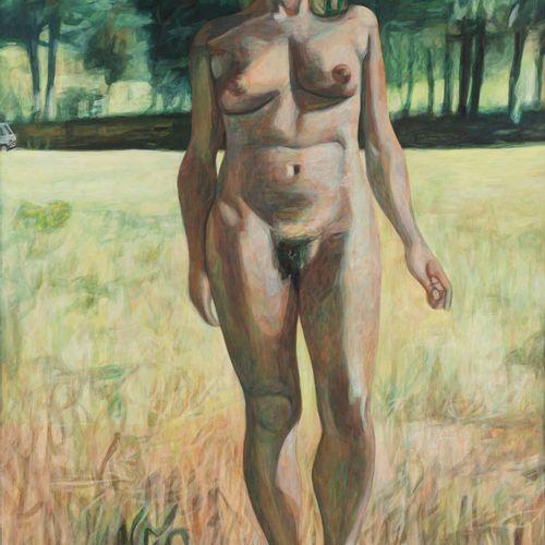 Marc DESGRANDCHAMPS (né en 1960) Sans titre (993), 1993  Huile sur toile signée …