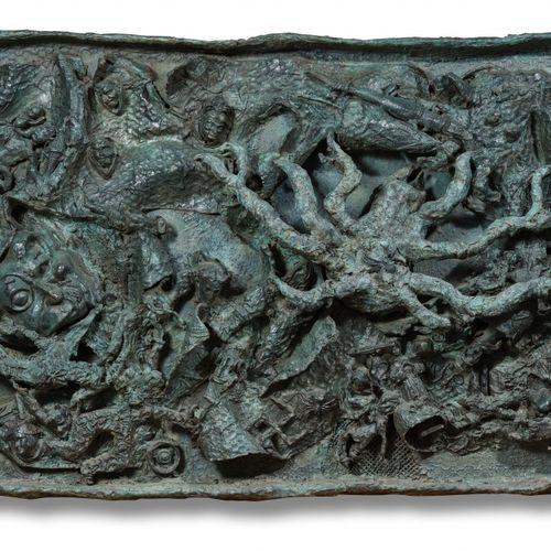 Niki de SAINT PHALLE (1930 2002) Spider, 1962 1995  Bronze manganèse, bas relief…
