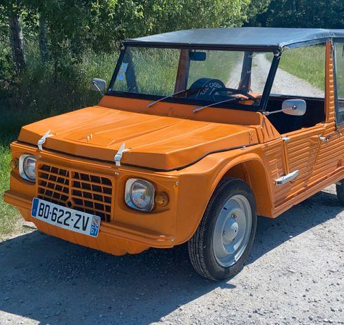 Marque: Citroën Modèle: Méhari Date de mise en circulation: 1976 Kilométrage …