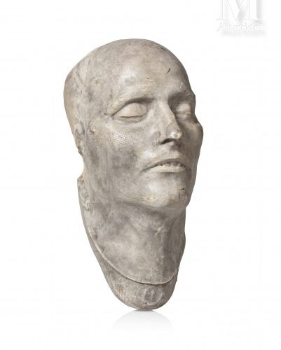 Carlo Francesco ANTOMMARCHI (1780 1838), d'après. Masque mortuaire de l'empereur…