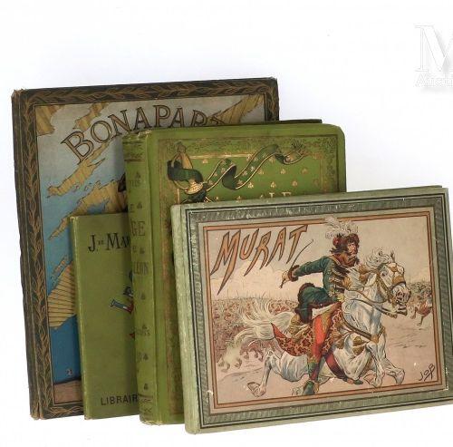Lot de 4 ouvrages : Le page de Napoléon par E. Dupuis, illustrations de Job, li…