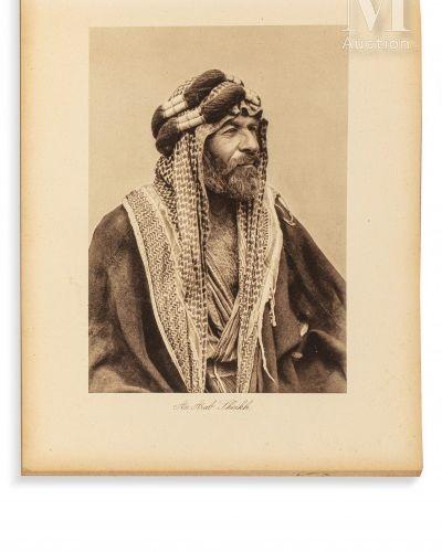 KERIM (Abdul) Camera Studies in Iraq  Baghdad, Kerim & Hasso, sd (c. 1925). In 4…