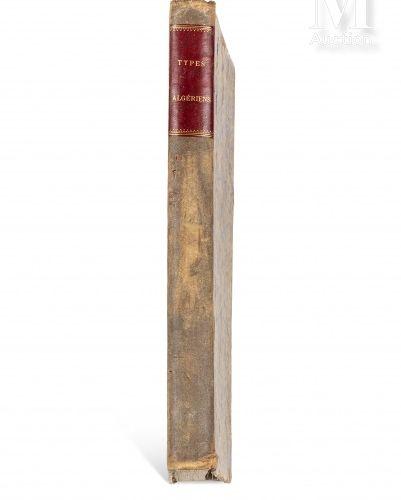 GRANDMAISON (Henri de) Types algériens. Sl, sn, sd (c. 1880)  Recueil de 71 lith…