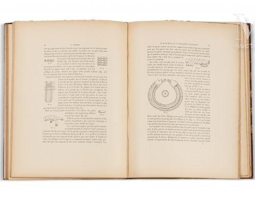 VERNIER (Émile) La Bijouterie et la Joaillerie égyptiennes  sl, Imprimerie de l'…