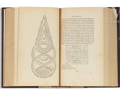 DOUTTE (Edmond) Magie & Religion dans l'Afrique du Nord. Alger, Jourdan, 1909.  …