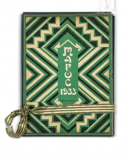 LE RICHE (Henri). Maroc, 1932 1933  Carnet de voyage illustré de trente gravures…
