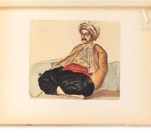 MARÇAIS (Georges) Le Costume musulman d'Alger. Paris, Plon, 1930.  In 4 broché, …